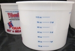 MEASURING BUCKETS - 5 QUART CASE (25)