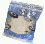 BUFFING PAD - 100% WOOL - WHITE
