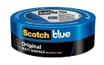 SCOTCHBLUE™ PAINTER'S TAPE 2090-24A-CP, .94 IN X 60 YD (24 MM X 54,8 M)