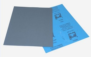 "9"" X 11"" WATERPROOF PAPER 1200 GRIT-100"