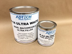 Ad-Tech Black P-17 Polyester Filler Quart