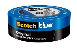 SCOTCHBLUE™ PAINTER'S TAPE 2090-48A-CP, 1.88 IN X 60 YD (48 MM X 54,8 M)
