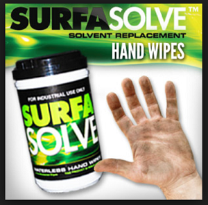 SURFASOLVE HAND WIPES